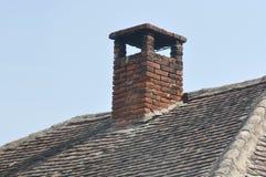 砖做的烟囱 库存照片