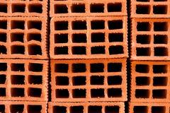 砖凹陷 免版税库存图片