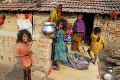 砖厂印地安人 免版税库存图片