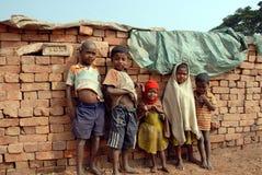 砖厂子项印度 图库摄影