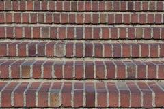 砖台阶 免版税图库摄影