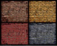 砖向量墙壁 皇族释放例证