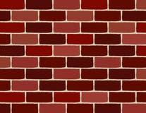 砖向量墙壁 免版税库存照片