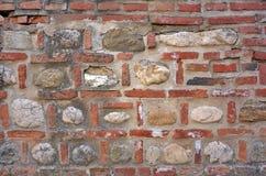 砖和石墙 库存照片