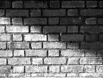 砖和阴影 库存图片