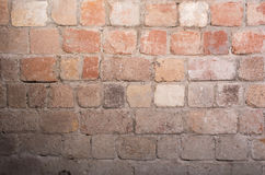 砖困厄的墙壁 免版税库存照片