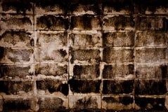 砖坏的非常墙壁 免版税库存照片