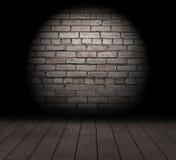 砖墙。 库存例证