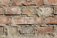 砖墙作为backgound 免版税库存照片