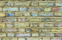 砖墙在伦敦 免版税库存图片