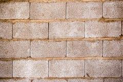 砖墙在房子里作为抽象背景 免版税库存照片