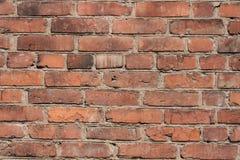 砖墙壁背景和纹理  免版税库存图片