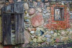 砖墙壁  免版税图库摄影