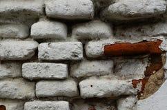 砖墙寺庙 免版税图库摄影