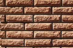 砖墙无缝的样式 库存图片