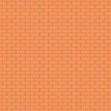 砖墙样式传染媒介背景 免版税库存照片