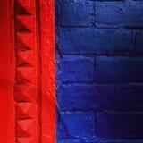 砖墙的细节 免版税库存图片