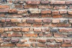 砖墙的细节 免版税库存照片