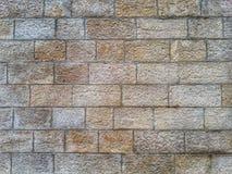 砖墙石头纹理 库存图片