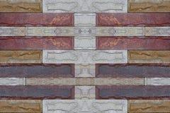 砖墙砂岩纹理葡萄酒背景样式和col 库存照片
