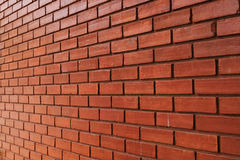 砖墙纹理产业大厦背景材料精读 库存照片