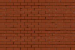 砖墙纹理无缝的传染媒介例证 皇族释放例证