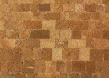 砖墙纹理照片背景  免版税图库摄影