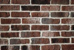 砖墙纹理红色和棕色颜色 免版税库存图片