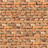 砖墙纹理背景。 免版税库存图片