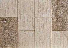 砖墙纹理背景,特写镜头,选择聚焦 平原色的灰泥,垂直的砖样式 免版税库存图片