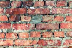 砖墙纹理背景 免版税库存照片