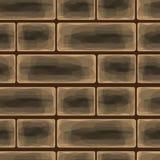 砖墙背景,传染媒介例证 库存照片