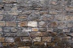砖墙背景 黑褐色样式 库存照片