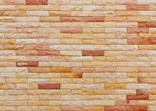 砖墙背景 免版税库存照片
