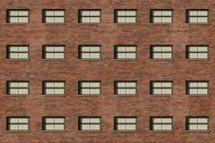 砖墙葡萄酒框架 库存图片