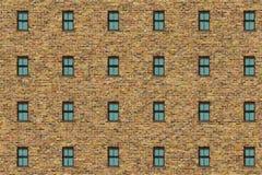 砖墙葡萄酒框架 库存照片