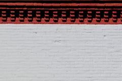 砖墙门面 库存图片