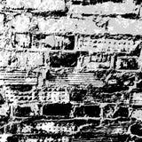 砖墙难看的东西纹理 库存照片