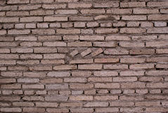 砖墙统治矩阵纹理灰色式样纹理 免版税图库摄影