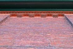 砖墙细节 免版税库存照片
