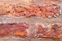 砖墙细节 免版税图库摄影