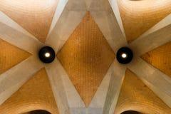 砖天花板 免版税库存图片