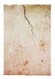 砖崩裂的查出的模式 免版税库存照片