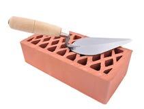 砖工具 免版税库存图片