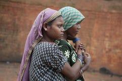 砖工厂在印度 库存图片