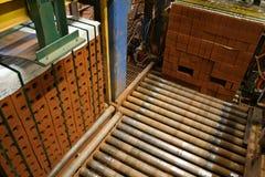 砖工厂 免版税库存照片