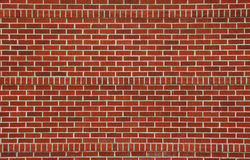 砖干净的墙壁 免版税图库摄影