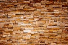 砖手工造墙壁 免版税库存照片