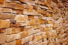 砖手工造墙壁 免版税库存图片