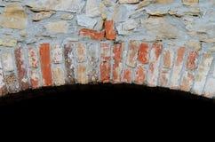 砖拱道 免版税库存图片